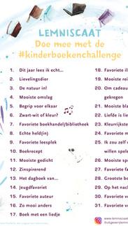 Kinderboekentips van de Lemniscaat Kinderboekenchallenge 2021 - Deel 1