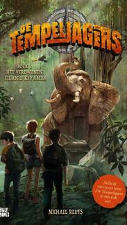 De Tempeljagers 1 - Het verdwenen eiland Kivamba   PlayStation game in boekformaat