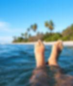Pés no Oceano