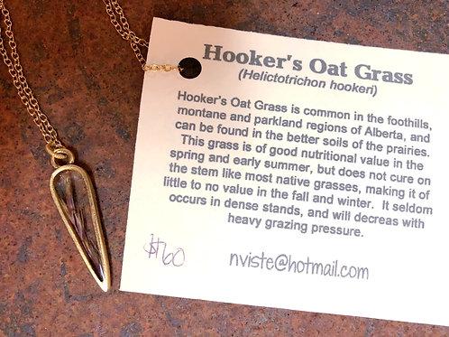 Hooker's Oat Grass Necklace