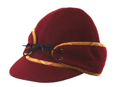 Large Wool Railroad Caps