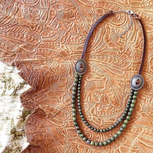 Epidote Necklace