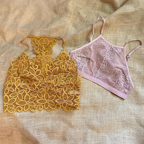 Lace Bralettes L
