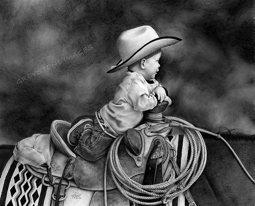 """Daddy's Saddle"""