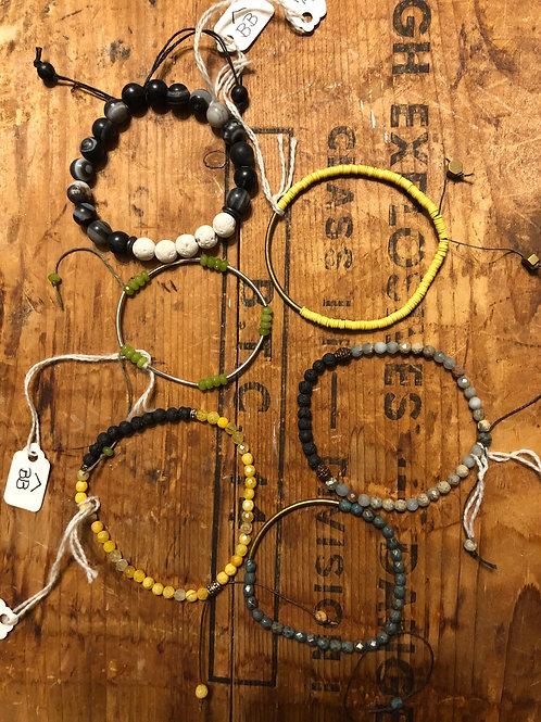 Pull String BB Bracelets