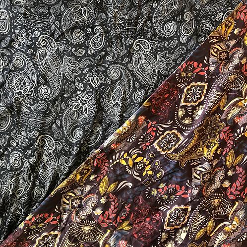 "44"" Paisley Scarves"