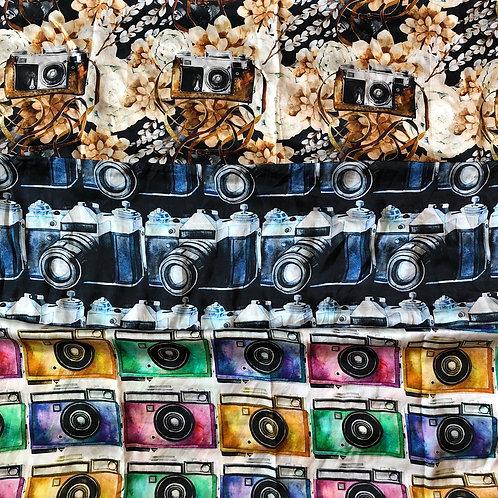 Vintage Camera Scarves