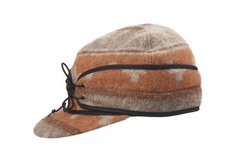 Size 7 3/4 Wool Rail Road Caps
