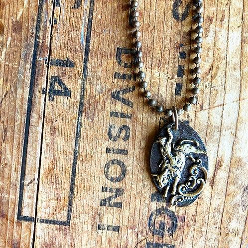 Mad Cow Company Bullrider Necklace