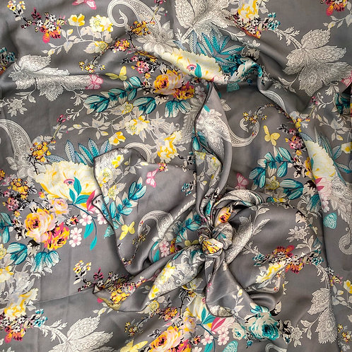 Floral Paisley Scarf,