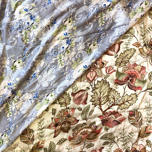 """36"""" Floral Paisley Scarves"""