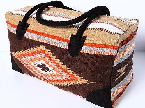 Large Travel Bag, brown