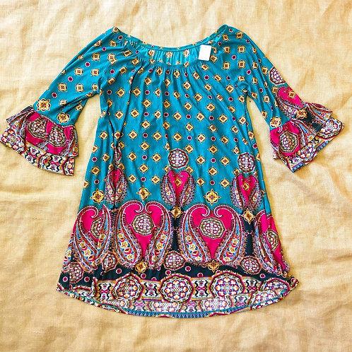 Paisley Tunic Dress