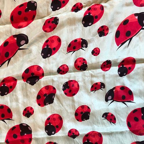 """28"""" Ladybugs Scarf"""