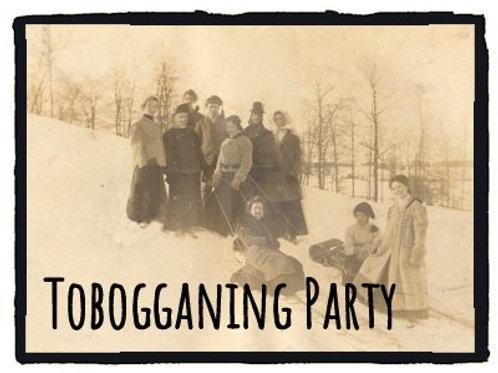 Tobogganing Party
