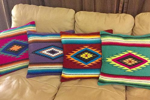 Bright Navajo Pillows