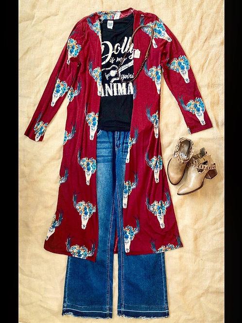 Deer Skull Kimono
