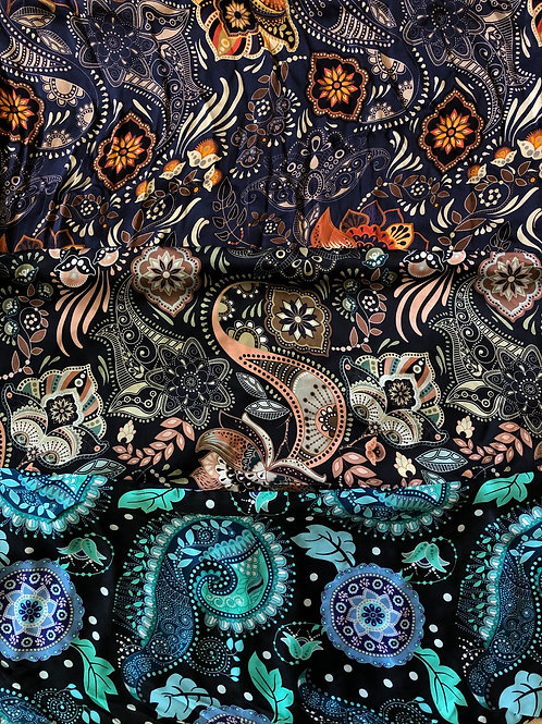 """44"""" Paisley Scarves"""