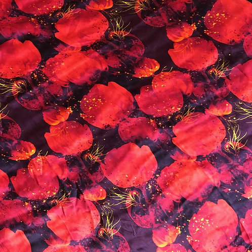 """36"""" Poppies Scarf"""