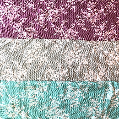 Lace Overlay Scarves