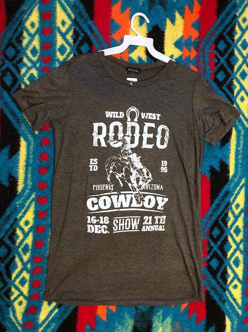 Wild West Rodeo Tee L
