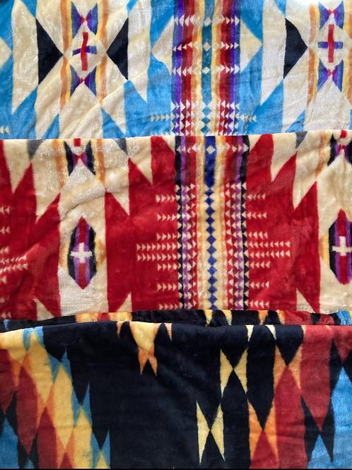 Queen-Size Plush Blanket