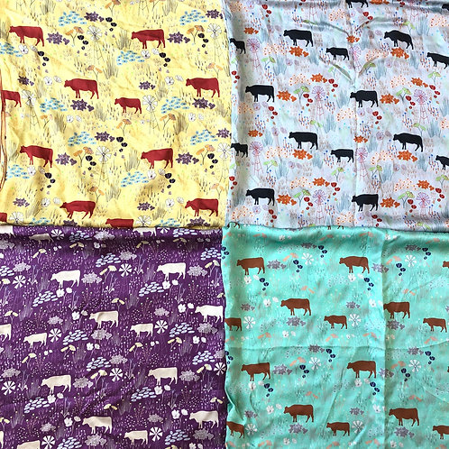 Cows & Windmills Scarves