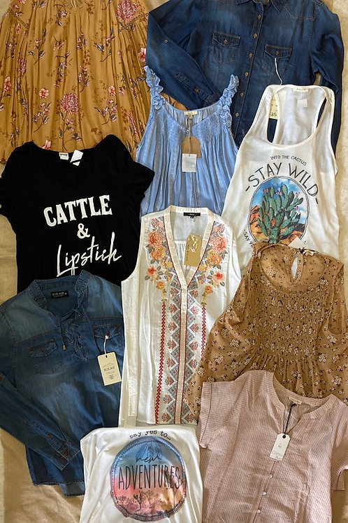 Bundle #19: Bigger fitting Larges and Smaller Fitting X-Larges