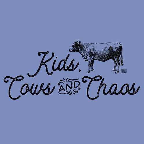 Kids, Cows & Chaos Unisex Tee