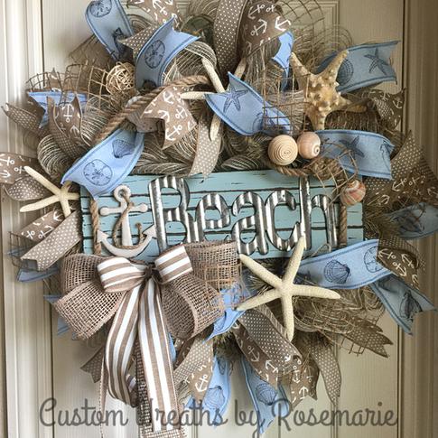 wreath, custom design, home decor