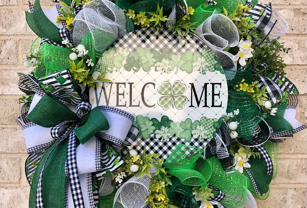 Welcome St Patrick's Day