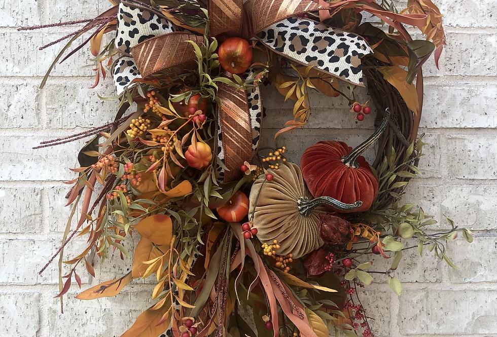 Fall Velvet Grapevine