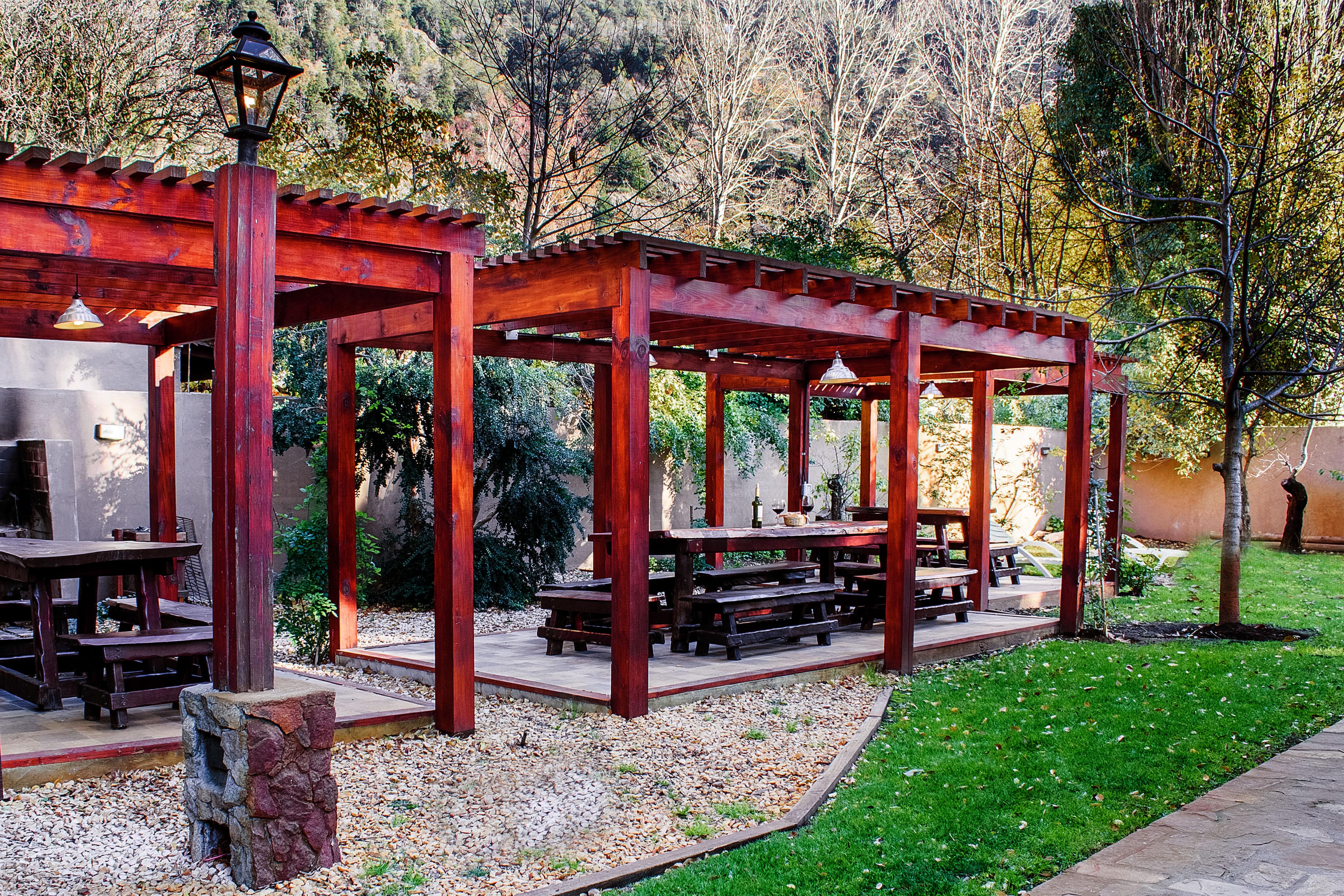 Jardín y Glorietas