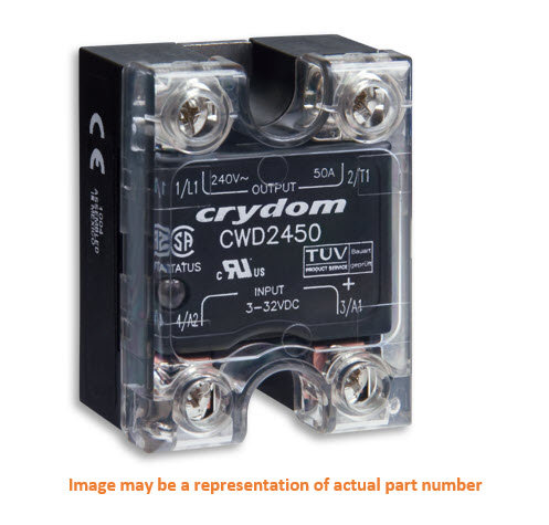 Crydom CWD48125 125 Amp / 48-660Vac, DC Input Solid State Relay
