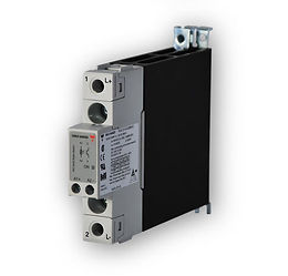 Carlo Gavazzi RGC1A60A30KKE 22.5mm, 30 Amp, AC Input DIN Mount Solid State Relay