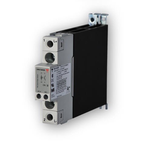 Carlo Gavazzi RGC1A60D30KKE 22.5mm, 30 Amp, DC Input DIN Mount Solid State Relay