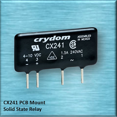 Crydom CX241 1.5 Amp / 240Vac PCB Mount Solid State Relay