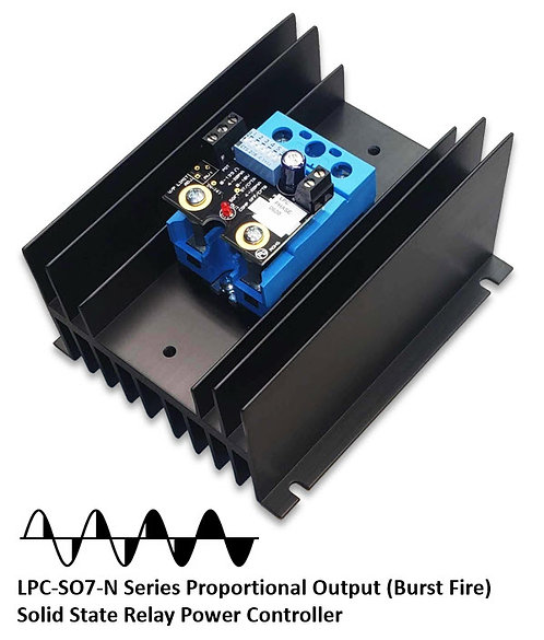 LPC-SO769090-N 80 Amp / 24-510Vac Phase-Angle Solid State Relay Assembly