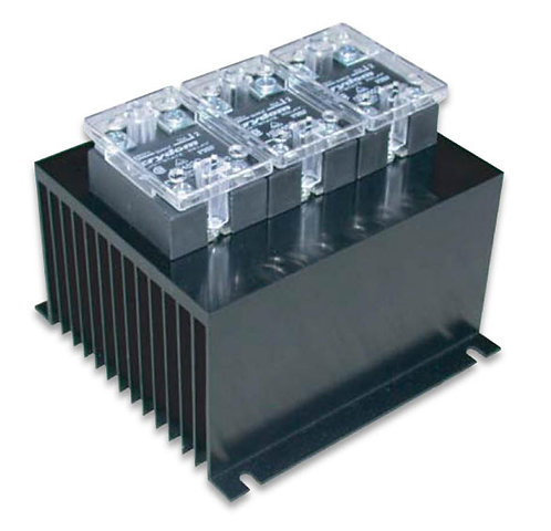 HBC-690HAG-3 AC Input, 50 Amp / 48-660Vac Three-Phase Solid State Relay Assembly