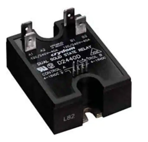 Crydom D2440D 40 Amp / 24-280Vac Dual Output Solid State Relay