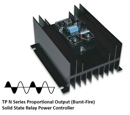 TP-50DN 45 Amp / 24-280Vac Burst Fire Solid State Power Controller