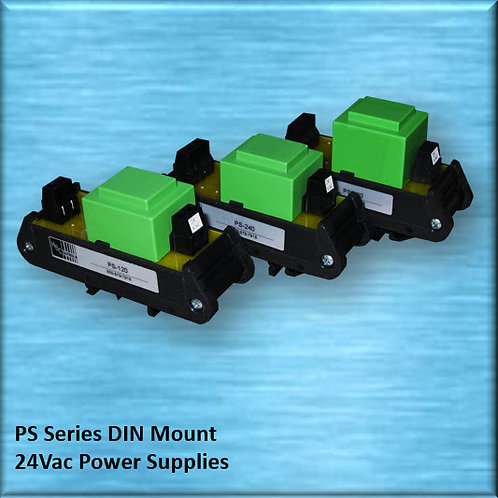 PS-240-3  240Vac to 24Vac DIN Mount Three-Phase Power Supply