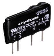 Crydom D2W203F, DC Input, 3 Amp / 24-280Vac PCB Mount Solid State Relay