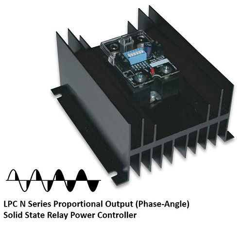 LPC-50HDN 45 Amp / 48-530Vac Phase-Angle Solid State Power Controller