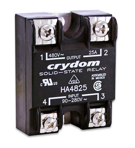 Crydom HA4825 25 Amp / 480Vac Panel Mount Solid State Relay