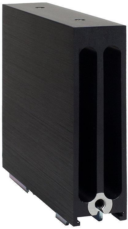 HS259DR 22.5mm DIN Mount Heat Sink - 2.5C/W