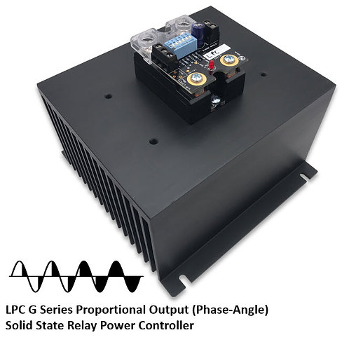 LPC-125HDG 100 Amp / 48-530Vac Phase-Angle Solid State Power Controller