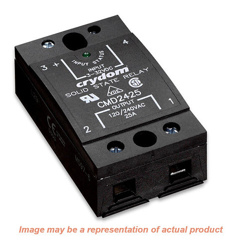 Crydom CMA4890, AC Input, 90 Amp / 48-530Vac, Zero-Crossing Solid State