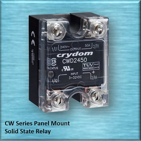 Crydom CWA48125 125 Amp / 480Vac Panel Mount Solid State Relay
