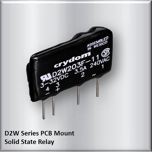 Crydom D2W203F 3 Amp / 240Vac PCB Mount Solid State Relay
